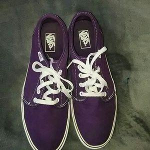 7cde72ce3c VANS Shoes - PURPLE VANS SHOES-MEN S SIZE 12